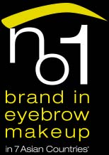 brand in eyebrow make up in 7 asian countries