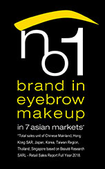 no1 brand in eyebrow makeup