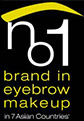 brand in eyebrow make up